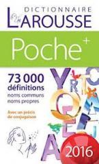 LAROUSSE DICTIONNAIRE POCHE 2016 PLUS Paperback