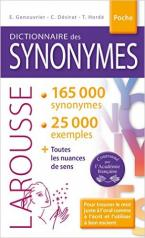 LAROUSSE DICTIONNAIRE POCHE SYNONYMES 2016 POCHE