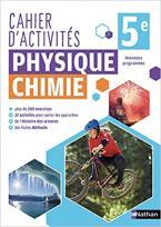 PHYSIQUE CHIMIE 5EME - CAHIER D'ACTIVITES 2018 POCHE