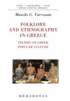 Folklore and ethnography in Greece