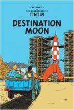 THE ADVENTURES OF TINTIN : DESTINATION MOON Paperback