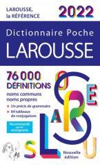 LAROUSSE DICTIONNAIRE POCHE 2022