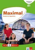 MAXIMAL B1 ARBEITSBUCH (MIT AUDIOS ONLINE + KLETT BOOK-APP)
