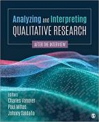 ANALYZING AND INTERPRETING QUALITATIVE RESEARCH Paperback