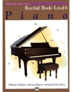 Alfred's Basic Piano Library-Recital Book Level 6