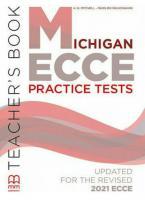 MICHIGAN ECCE PRACTICE EXAMS Teacher's Book 2021