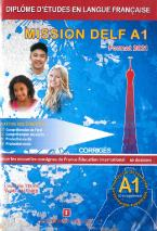 MISSION DELF A1 CORRIGES + CD FORMAT 2021